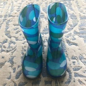 Other - Aqua Blue Rainboots